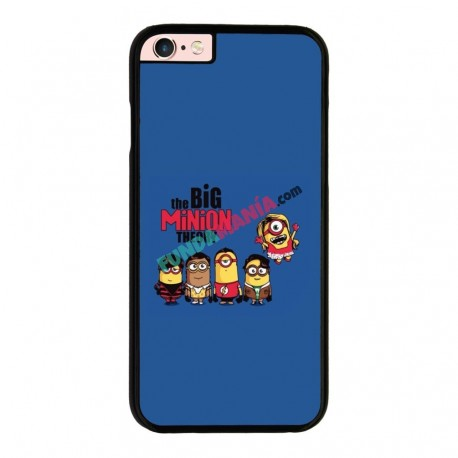 Funda IPhone 6 plus Iphone 6s plus minions the big bang theory