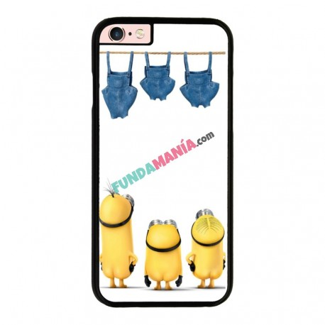 Funda IPhone 6 plus Iphone 6s plus minions haciendo colada
