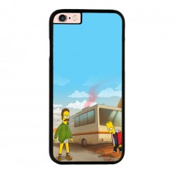 Funda Iphone 6 plus Iphone 6s plus heisenberg y bart