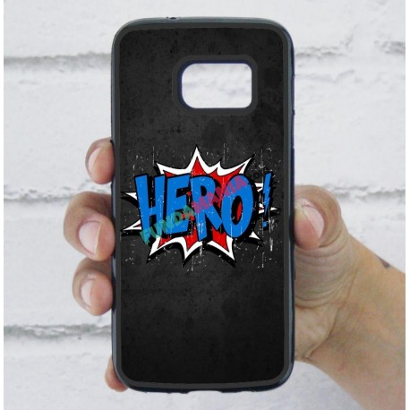 Funda Galaxy S7 cómic hero