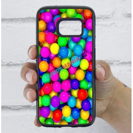 Funda Galaxy S7 bolas de chicle