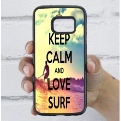 Funda Galaxy S7 frase surf