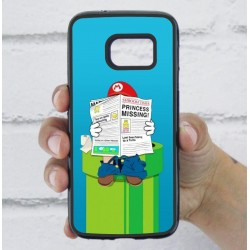 Funda Galaxy S7 mario bros wc