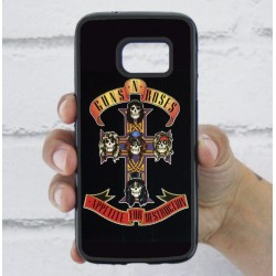 Funda Galaxy S7 guns and roses portada album