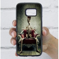 Funda Galaxy S7 calavera queen trono