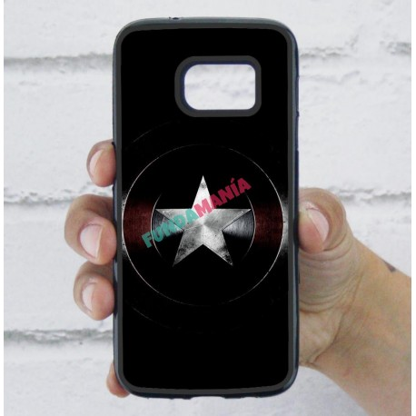 Funda Galaxy S7 escudo capitán américa civil war