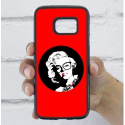 Funda Galaxy S7 marilyn roja