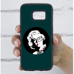 Funda Galaxy S7 marilyn verde