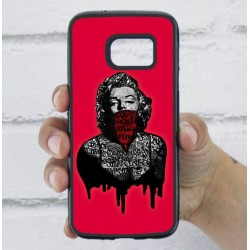 Funda Galaxy S7 marilyn rosa