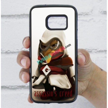 Funda Galaxy S7 minions assassins creed