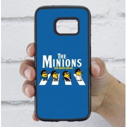 Funda Galaxy S7 minions beatles