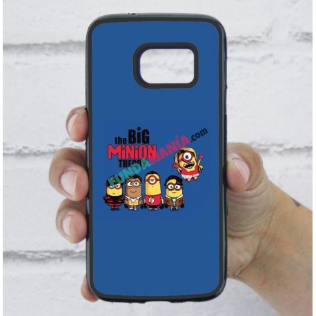Funda Galaxy S7 minions the big bang theory