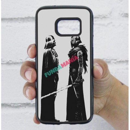 Funda Galaxy S7 star wars darth vader family