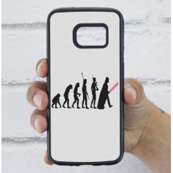 Funda Galaxy S7 star wars evolution
