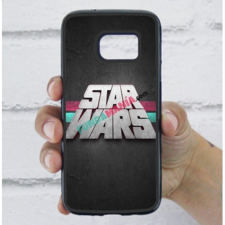 Funda Galaxy S7 star wars logo