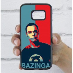 Funda Galaxy S7 sheldon bazinga