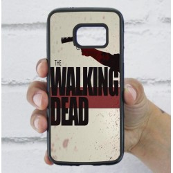 Funda Galaxy S7 the walking dead logo