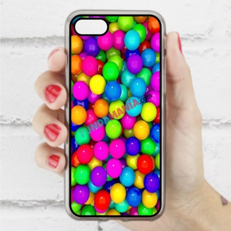 Funda Iphone 7 bolas de chicle