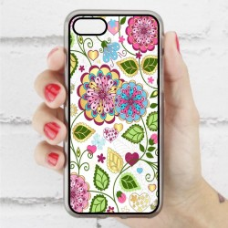 Funda Iphone 7 estampada de flores hippie