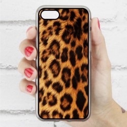 Funda Iphone 7 estampada de leopardo