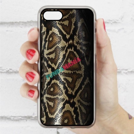 Funda Iphone 7 estampada piel de serpiente