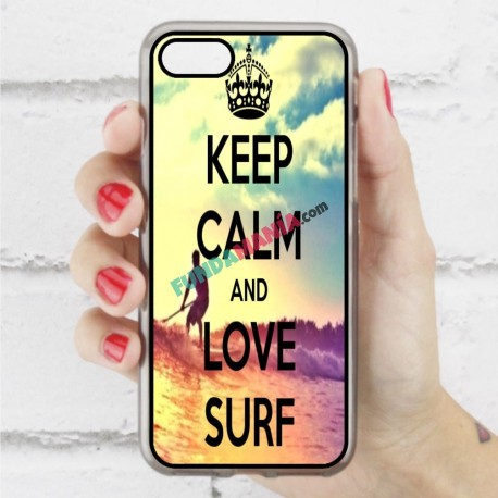 Funda Iphone 7 frase surf