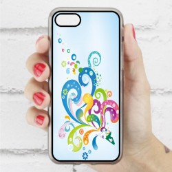 Funda Iphone 7 tribal azul