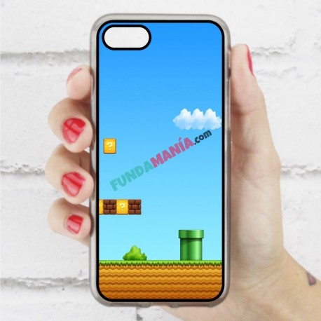 Funda Iphone 7 mario bros