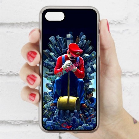 Funda Iphone 7 mario trono de hierro