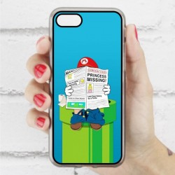 Funda Iphone 7 mario wc
