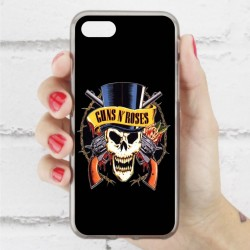 Funda Iphone 7 guns and roses calavera
