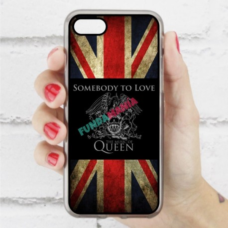 Funda Iphone 7 queen bandera inglesa