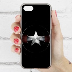 Funda Iphone 7 escudo capitán américa civil war