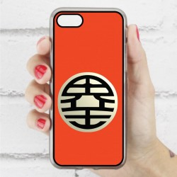 Funda Iphone 7 logo escuela goku