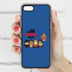 Funda Iphone 7 minions the big bang theory