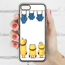 Funda Iphone 7 minions haciendo colada