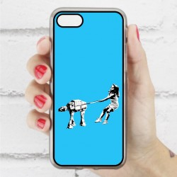 Funda Iphone 7 star wars banksy