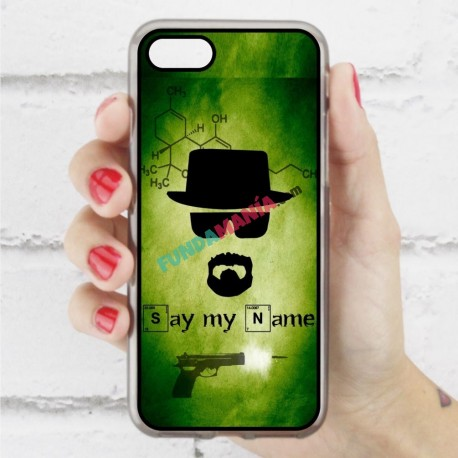 Funda Iphone 7 heisenberg silueta