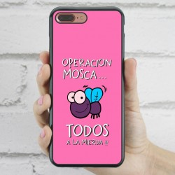 Funda iPhone 7 Plus Frase Operación Mosca