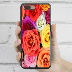Funda iPhone 7 Plus estampada con rosas