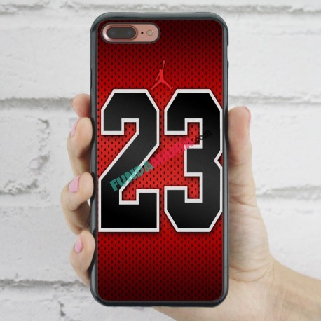 vistazo Perímetro matraz  Funda iPhone 7 Plus Michael Jordan 23 - Fundamanía