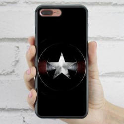 Funda iPhone 7 Plus escudo Capitán América Civil War