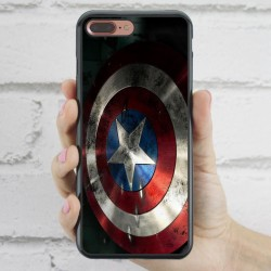 Funda iPhone 7 Plus escudo Capitán América