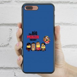 Funda iPhone 7 Plus Minions The Big Bang Theory