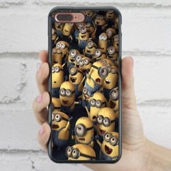 Funda iPhone 7 Plus Minions concierto
