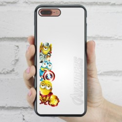 Funda iPhone 7 Plus Minions Vengadores