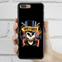 Funda iPhone 7 Plus Guns and Roses calavera