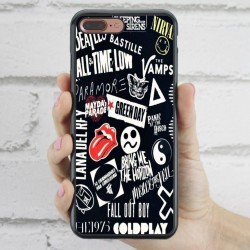 Funda iPhone 7 Plus Pop Rock míticos