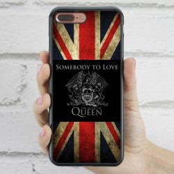 Funda iPhone 7 Plus Queen bandera inglesa