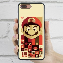 Funda iPhone 7 Plus Mario Bros vintage